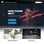 Spend $250 Get $50 off at Adidas.co.nz - 12 Days of Gifting