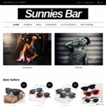 Sunglasses Sale: Take Extra 25% off All Fashion Sunglasses and Accessories @ Sunnies Bar