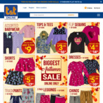 Autumn Sale: Assorted Babywear 3 for $9, Chinos $8.99, Dresses $5.99 + More @ tandt.co.nz