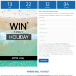 Win a 5 Night Accomodation Package from Wyndham Destinations