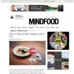 Win 1 of 2 Double Passes to Taste of New Tealand, with Ti Ora (Worth $600) from Mindfood