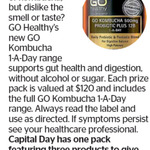 Win a Pack of GO KOMBUCHA 500mg GO Healthy's PROBIOTIC PLUS from The Dominion Post