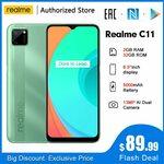 Realme C11 Android Phone 6.5'' 2GB/32G US$109.98 / NZD $161.38 Shipped @ realme via Aliexpress