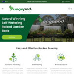10% off @ Vegepod.co.nz + Free Delivery