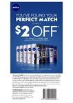 $2 off Any Nivea Aerosol Deodorant