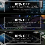 Computer Lounge Weekly Specials - Audio Pro, D-Link, Corsair Gaming, Crucial, Inwin