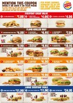 Burger King May Coupons: Creamy Mayo Double Cheeseburger $4, Kids Meal $4, 2 Whopper Jrs + 2 Small Fries $7 + More