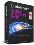 Windows Deal - Bitdefender Total Security 2015 - $0.00 (6 Month Subscription)