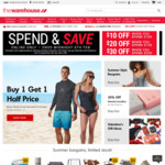 The Warehouse. $10 Off When Spend $100, $20 Off When Spend $150, $30 Off When Spend $200