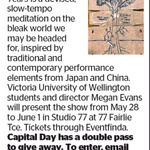 Win a Double Pass to Eleven and a Half Years from The Dominion Post (Wellington)