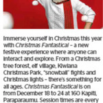 Win a Family Pass to Christmas Fantastical from The Dominion Post (Wellington)