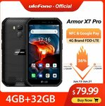Ulefone Armor X7 Pro Android10 Rugged Phone USD79.99 (~NZ $123.56) Free Shipping @AliExpress ULEFONE Official Store