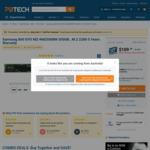 Samsung 860 EVO MZ-N6E500BW 500GB M.2 SATA $109 @ PB Tech