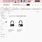 Marley Buffalo Soldier Bluetooth on-Ear Wooden Headphones (Normally $254) $62.15 @ The Market