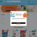PetDirect - Save $20 When You Spend $100 or More