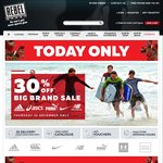 30% off Adidas, Asics, Puma, Nike and New Balance 15 Dec 2016 Only @ Rebel Sport