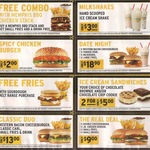 Carl's Jr April Coupons: Free Combo with Memphis BBQ Chicken Stack Burger, Spicy Jr Chicken Burger $2, Milkshake $3 + More