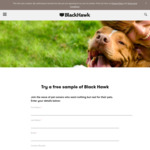 Free Black Hawk Pet Food Sample @ Black Hawk