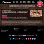 Value Range Pizzas $2.99ea @ Domino's (Rotorua)