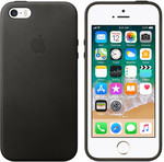 Official Apple Leather Case for iPhone 5/5S and SE $1 at PB Tech