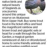 Win 1 of 3 Family Passes to Staglands from The Dominion Post