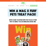 Win a WAG X Furf Pets Treat Pack (Worth $360) from WAG
