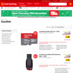 50% off SanDisk Flash Drives and SanDisk Extreme Portable SSDs @ Noel Leeming