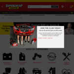 Spend $80+ and Receive $20 Credit (Club Plus Members Only, per $80 Transaction) @ Supercheap Auto