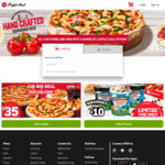 $2.99 Regular Pizzas 11am - 2pm @ Pizza Hut