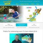FREE: Swimming Lesson for Children Under 5 (Nationally)