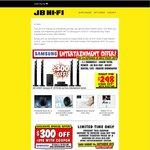 Samsung HT-J5150 Home Theatre Blu-Ray 5.1 1000W $298 (RRP $598) @JB Hi-Fi
