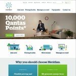 Earn 10,000 QFF Points Joining Meridian Energy