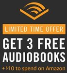 US Prime Members: 3-Months Audible Trial + $10 Amazon Credit