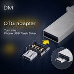 DM USB to Micro USB Male OTG Adapter for US $0.10 (~NZ $0.15) Delivered from GearBest