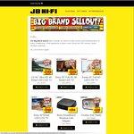 JB Hi-Fi Big Brand Sellout