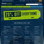 Bivouac - 20% off Everything