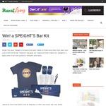 Win a SPEIGHT'S Bar Kit (T-Shirt, Bar Towel, Bar Mat, Bottle Opener, Stubby Holder, etc) from Rural Living
