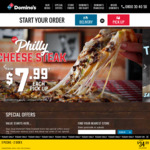 3x Traditional Pizzas - $21.99 Delivered @ Domino's