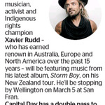 Win a Double Pass to Xavier Rudd from The Dominion Post (Wellington)