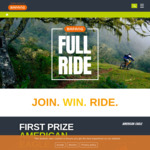 Win an American Eagle eMTB Plus a Trip to The Czech Republic, 1 of 50 Cycling Jersey/Shorts Kits or 1 of 100 Tees from BAFANG