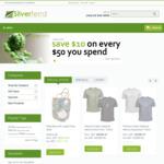 Silverfernz.com: Save $10 on Every $50 You Spend