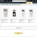 60% off Bulldog Men's Skincare + Extra 10% off with S&S; 4x Mens Moisturiser 100ml ~AU$21.89 Delivered @ Amazon AU