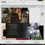 Marks and Spencer - Free International Delivery to New Zealand (No Minimal Spend - Save £15)