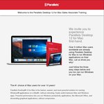 FREE Parallels Desktop 12 for Mac - Save $79.99