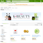 15% off K-Beauty Items at iHerb