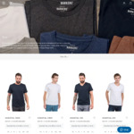 Basic Tees - 2 for $50 or 3 for $60 @ Barkers In-Store & Online