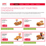 Gimme 5 [5pcs Chicken + Reg Chips] $9.99 @ KFC