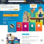 Free 30 Day Amazon Prime Membership @ Amazon