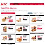 Gimme 5 (5 Pieces of Secret Recipe & Reg Chips) $9.99 @ KFC