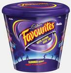 Cadbury Favourites Flying Disk Tub 700g (past BB date) $6.79 Delivered @ Munchtime
